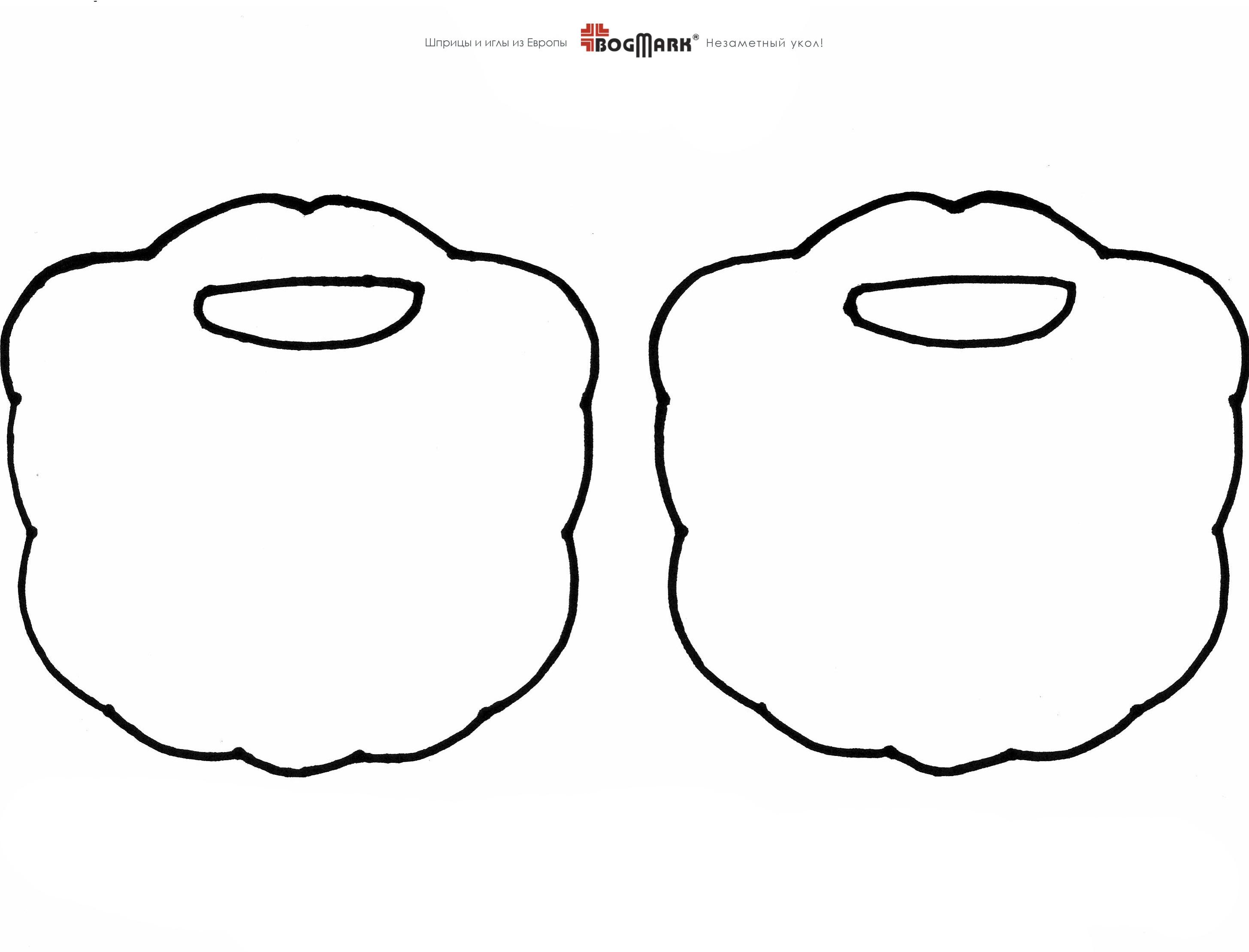 Как сделать бороду из бумаги своими руками 92