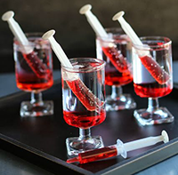 коктейли на хэллоуин рецепт с фото