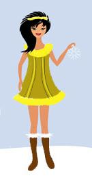античный стиль в одежде рим